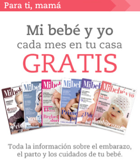 6 meses gratis de la revista Mi Bebé y Yo